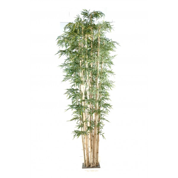 Bambou new geant 20 arbre artificiel fleurs plantes for Arbre artificiel exterieur