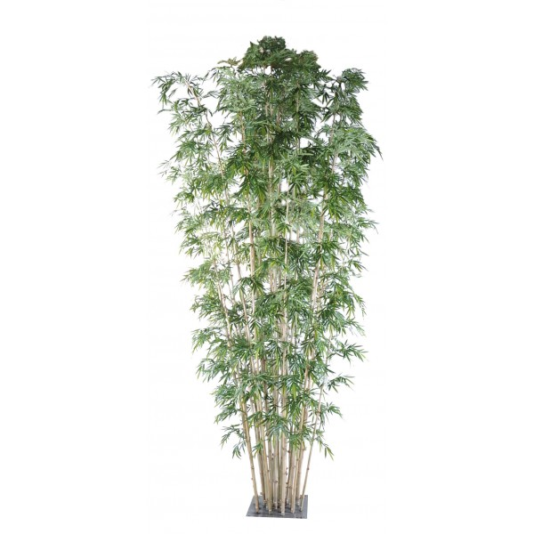 Bambou new geant 25 luxe arbre artificiel fleurs for Arbre geant artificiel