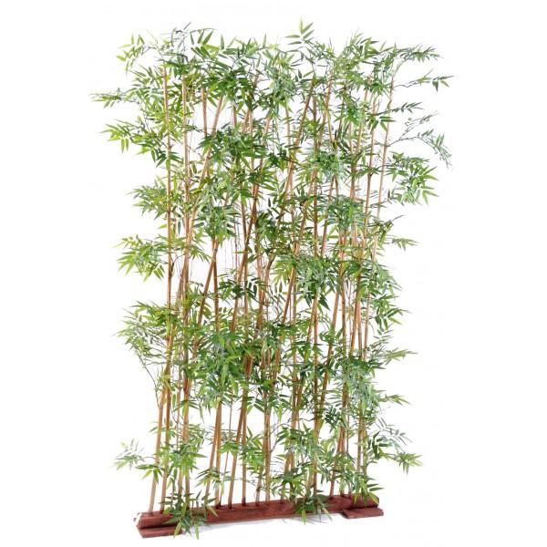 Bambou oriental haie 185 v g tal artificiel fleurs for Bambou synthetique exterieur