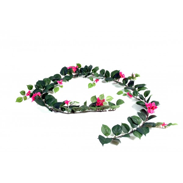 Bougainvillee chute plante artificielle fleurs plantes for Guirlande fleurs artificielles