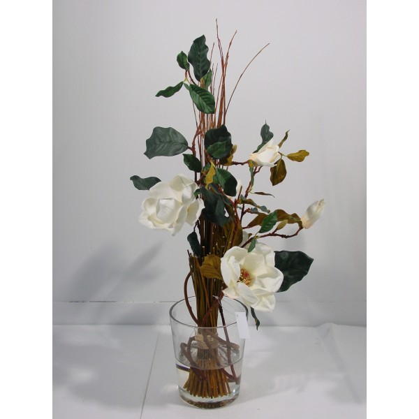 Bouquet Magnolia – Composition artificielle