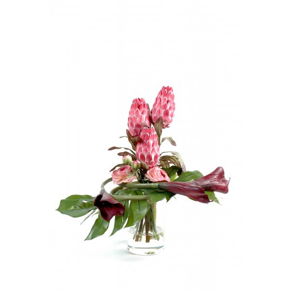 Bouquet Protea – Composition artificielle