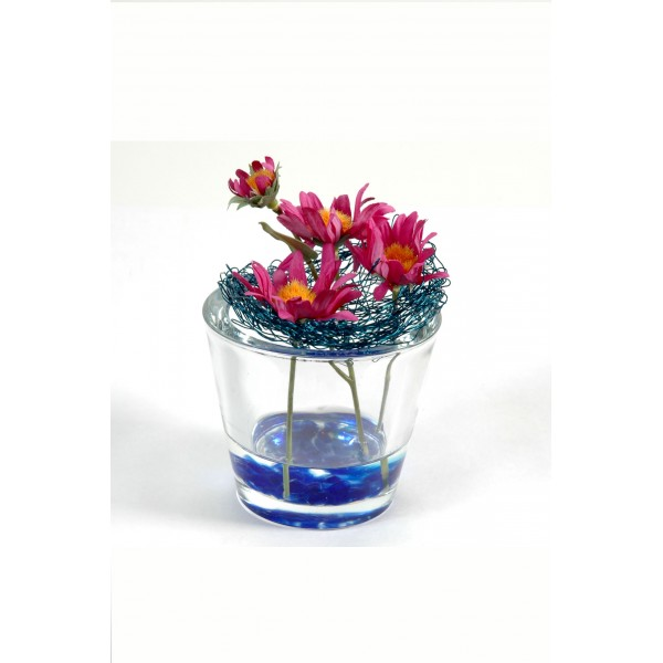 Bouquet Centre De Table Aster – Composition artificielle