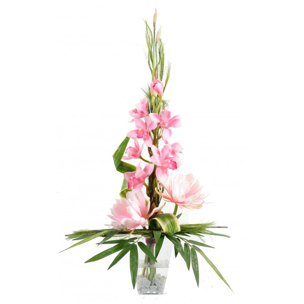 Bouquet Medinilla – Composition artificielle