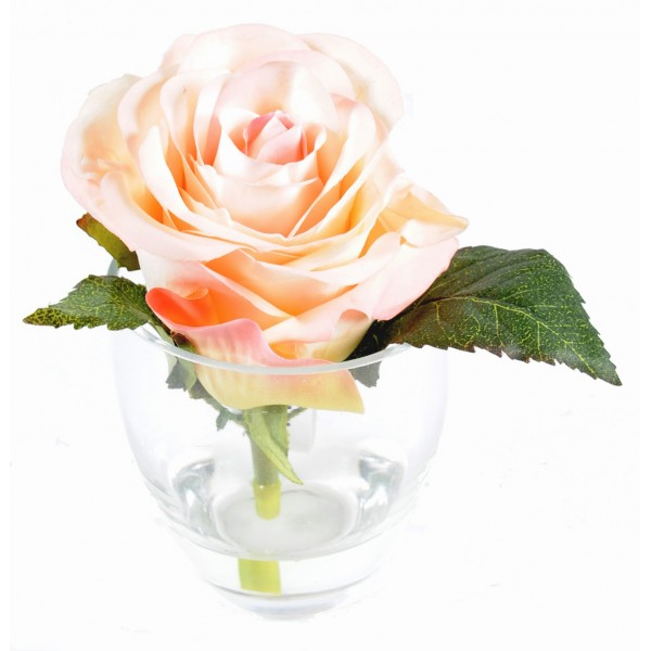 Bouquet Rose 1 – Composition artificielle