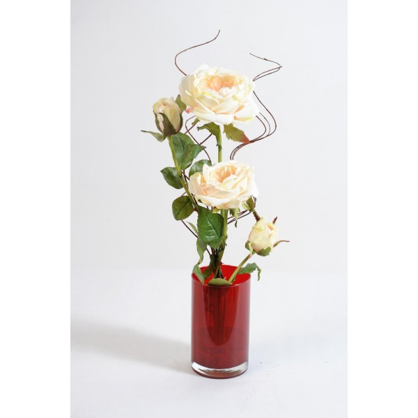 Bouquet Rose Moderne – Composition artificielle