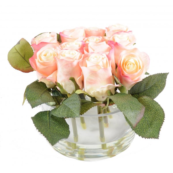 Bouquet Rose – Composition artificielle