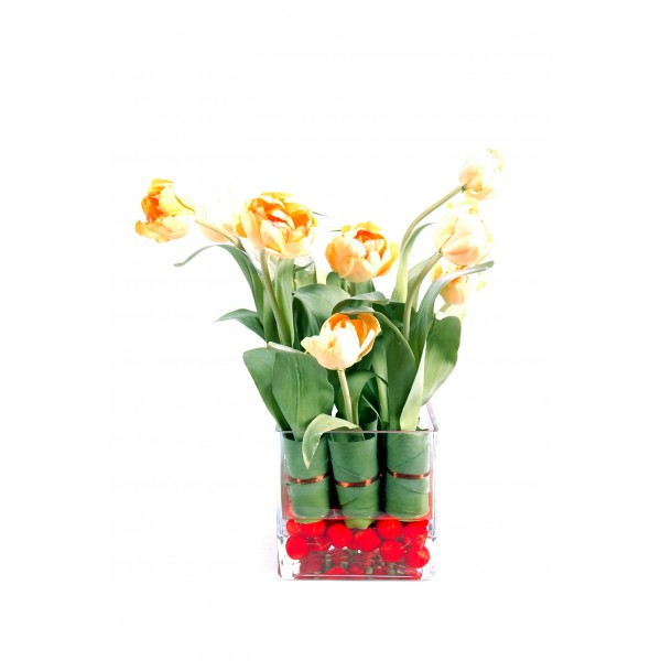 Bouquet Tulipe – Composition artificielle