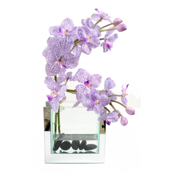 Bouquet Vanda – Composition artificielle