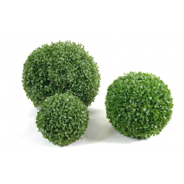 Buis boule single arbre artificiel fleurs plantes for Arbre artificiel exterieur