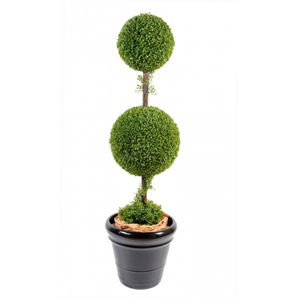Buis Double Boule 40 &30Cm – Arbre artificiel