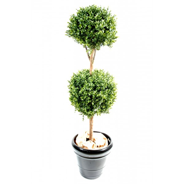 Buis Tige Double Boule New – Arbre artificiel