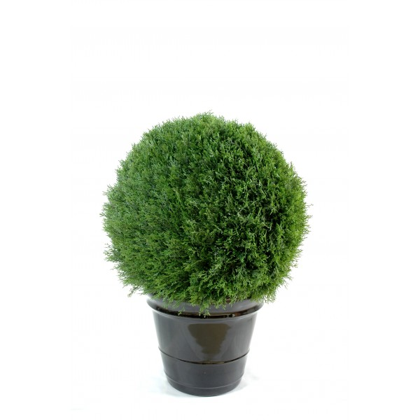 Cypres mini boule new arbre artificiel fleurs plantes for Mini plante artificielle
