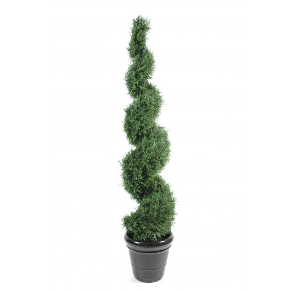 Cypres mini cone geant arbre artificiel fleurs plantes for Arbre geant artificiel