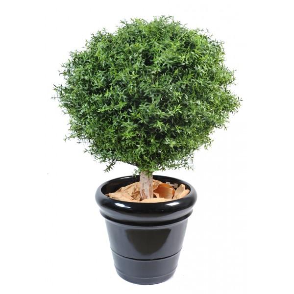 Eucalyptus plast boule arbre artificiel fleurs plantes for Boule de buis artificiel 50 cm pas cher