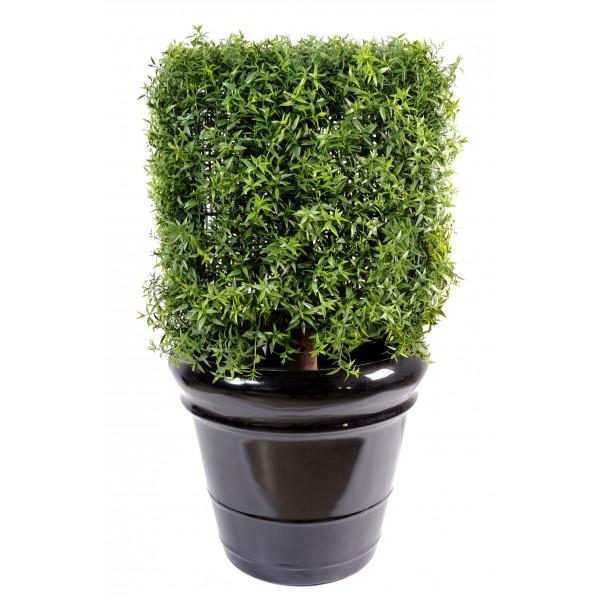 Eucalyptus plast tige arbre artificiel fleurs plantes for Plante artificielle pour exterieur pas cher