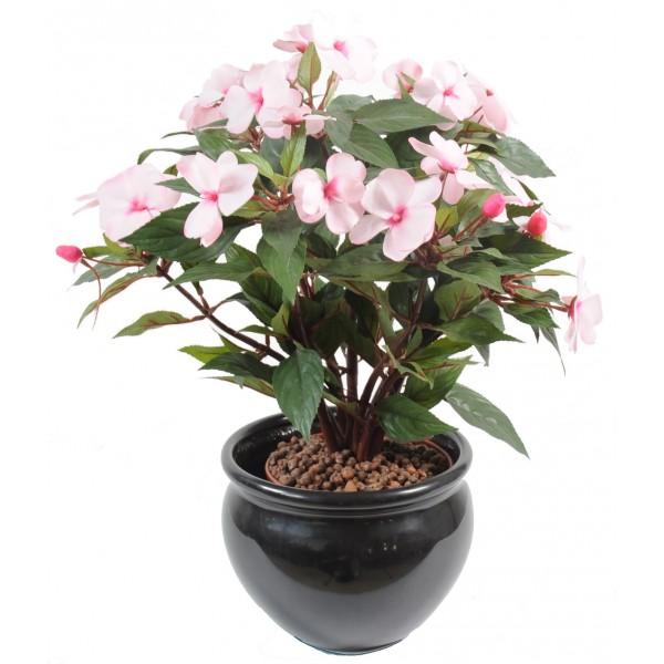 impatiens piquet plante artificielle fleurs plantes artificielles. Black Bedroom Furniture Sets. Home Design Ideas