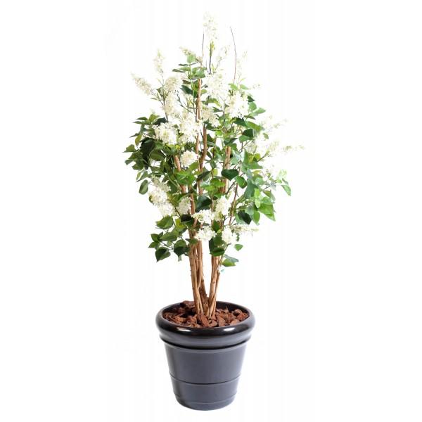 Lila buisson arbre artificiel fleurs plantes artificielles for Buisson synthetique