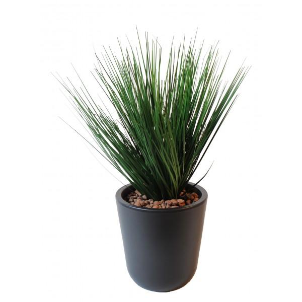 Onion grass en pot plante artificielle fleurs plantes artificielles - Plantes grasses en pot ...