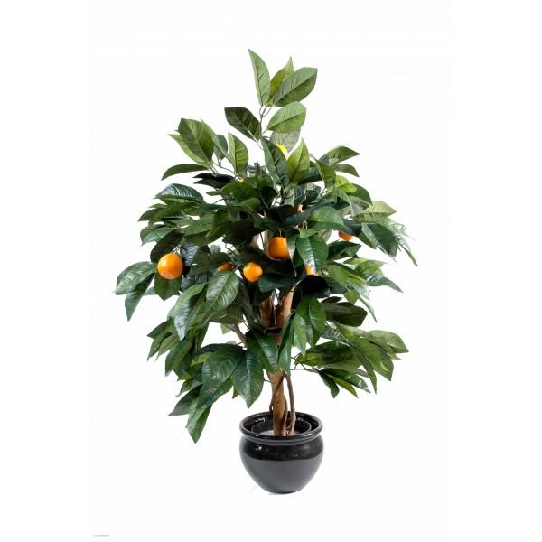 Oranger arbre artificiel fleurs plantes artificielles for Fausse plante tombante