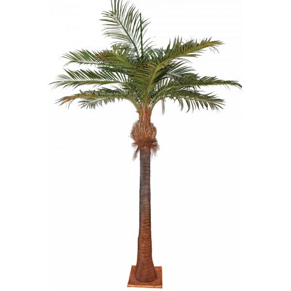 Palmier coco arbre artificiel fleurs plantes artificielles for Plante artificielle palmier