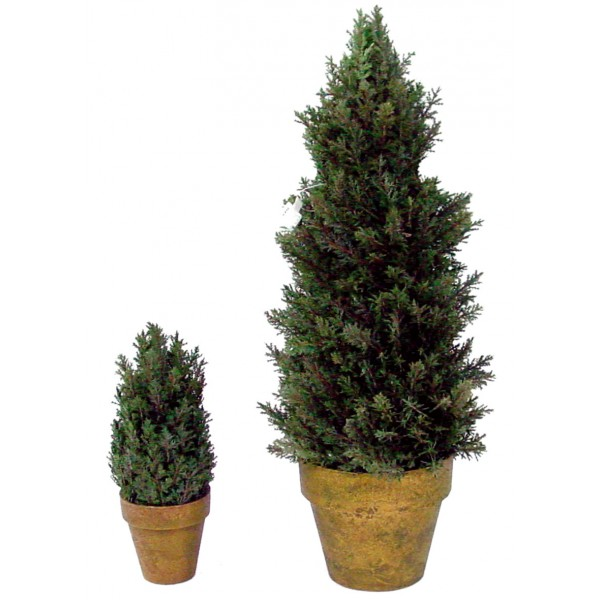 Pin Cone En Pot Terre Pin / Sapin artificiel