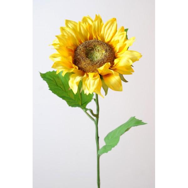 tournesol diam 16 fleur artificielle en tige fleurs plantes artificielles. Black Bedroom Furniture Sets. Home Design Ideas
